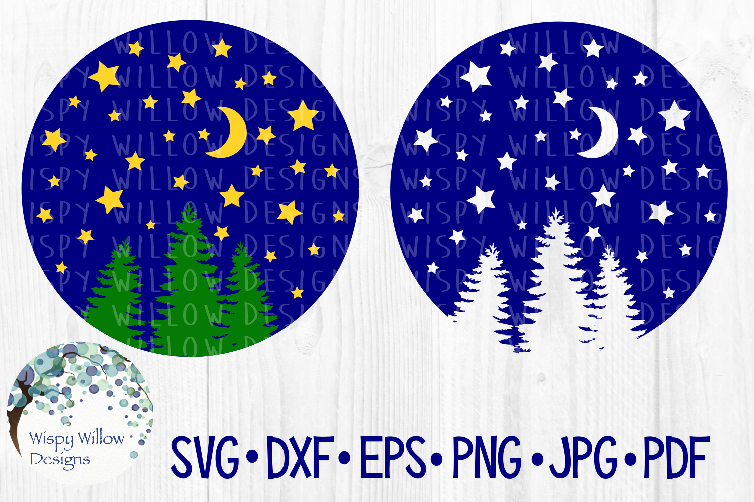 Camping SVG Cut File Bundle | Mountains SVG example image 23
