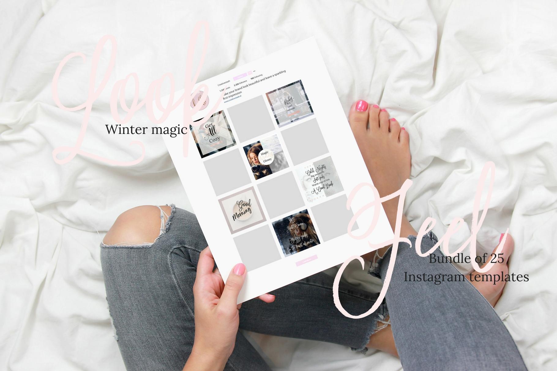 Instagram winter bundle example image 7