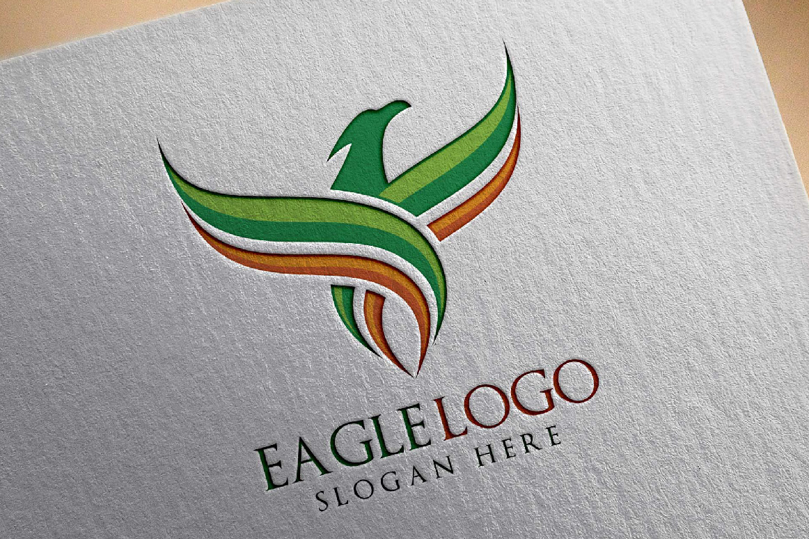 Eagle Fly Logo Template example image 5