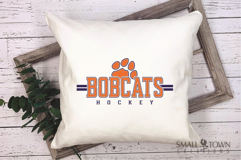 Bobcat Hockey, Paw Print, Sport, Team, PRINT, CUT & DESIGN example image 4