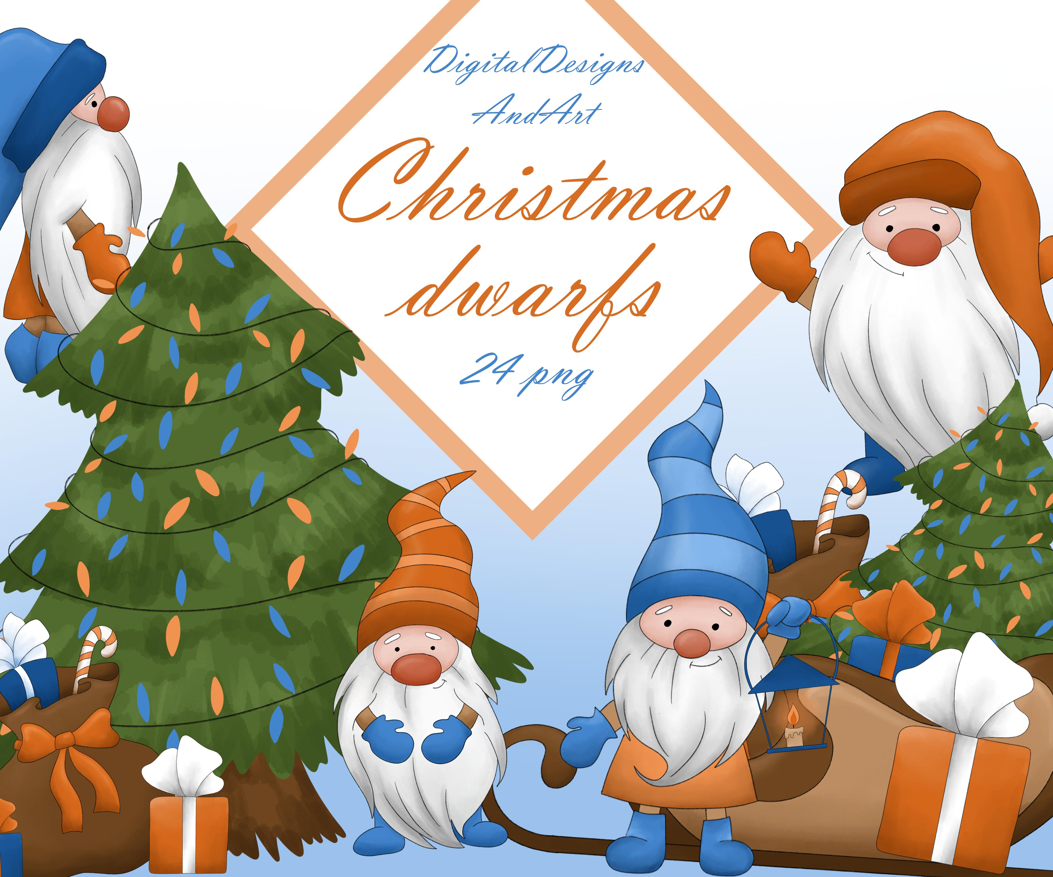 Dwarf clipart example image 1