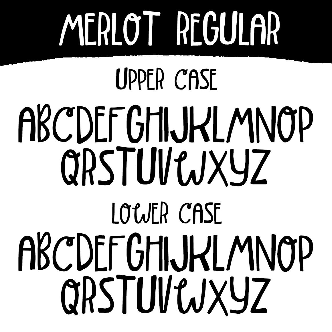 Merlot Font example image 5