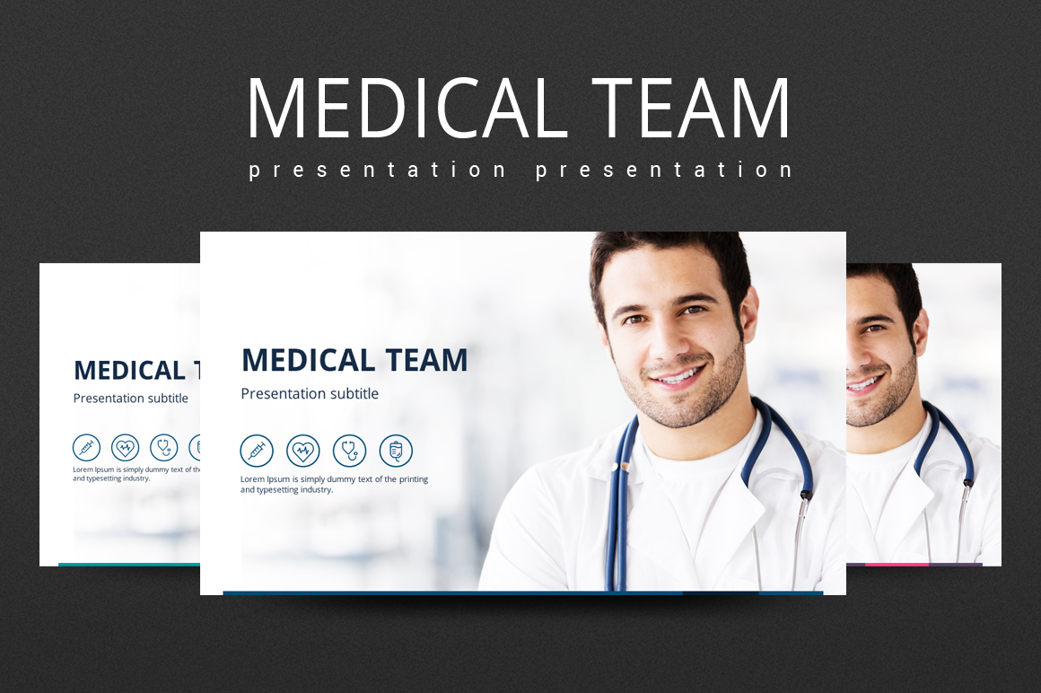 Medical PPT example image 1