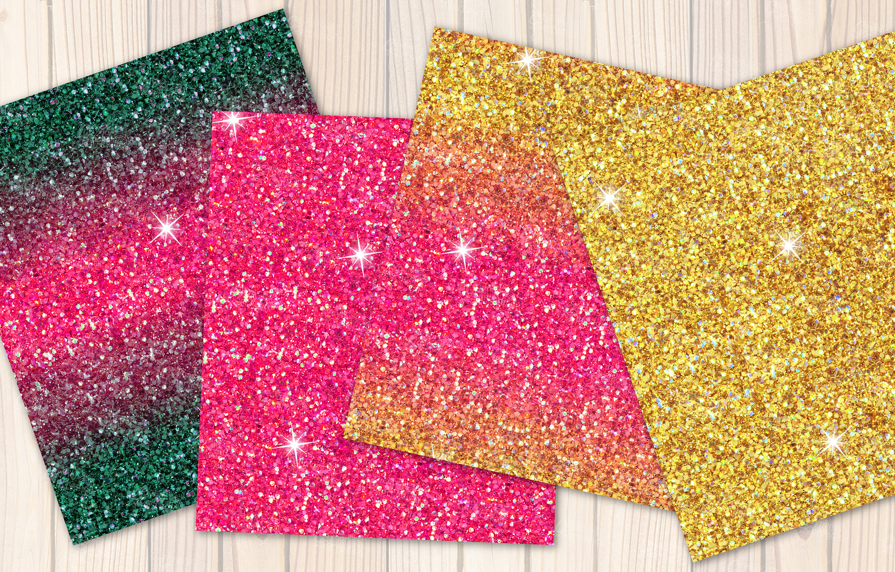 Mexican seamless Glitter backgrounds example image 3
