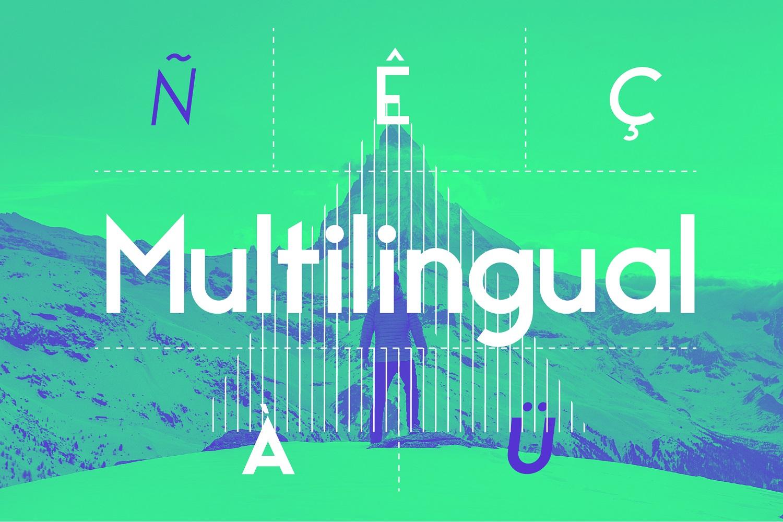 Maximus Sans - A Geometric Sans family of 8 Fonts example image 9
