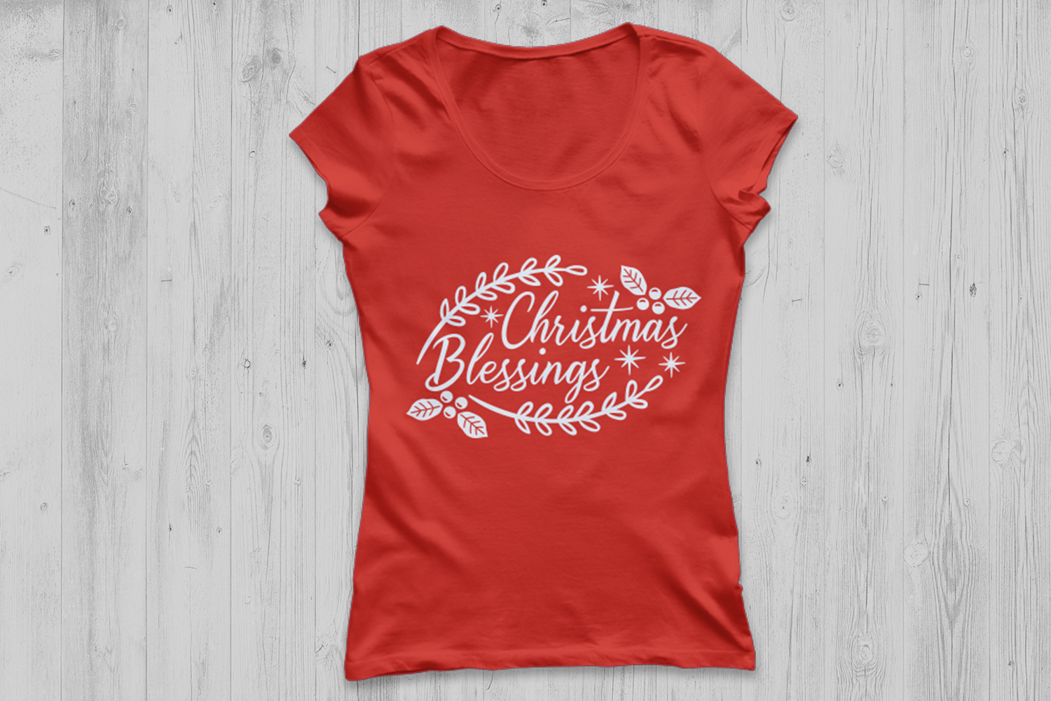 Christmas Blessings Svg, Christmas Svg, Holidays Svg. example image 2