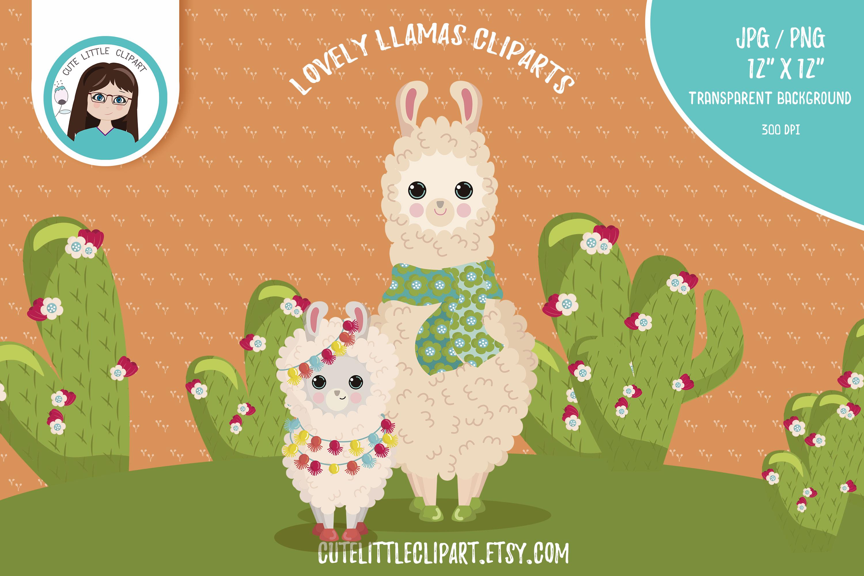 LLamas clipart PNG / JPEG example image 6