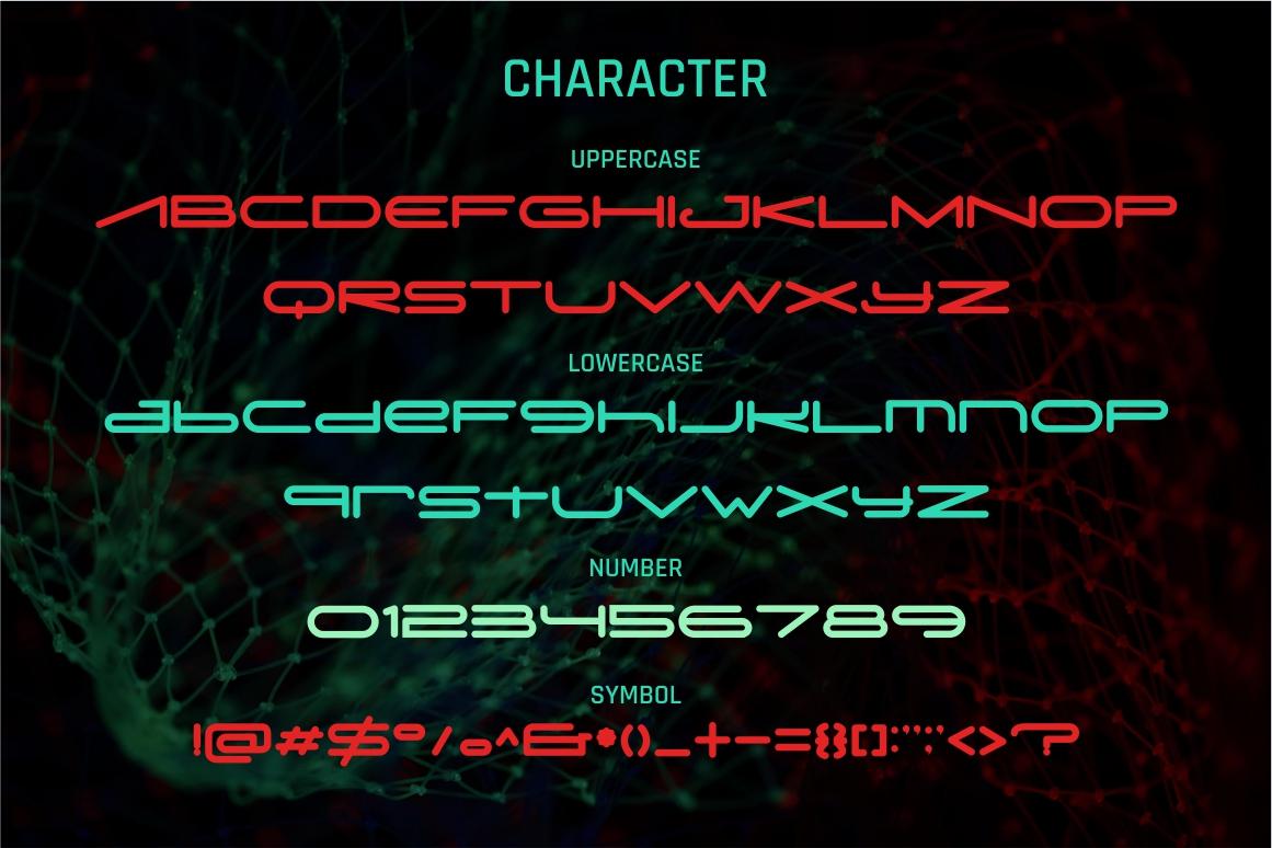 Digitechno - Futuristic Font example image 8