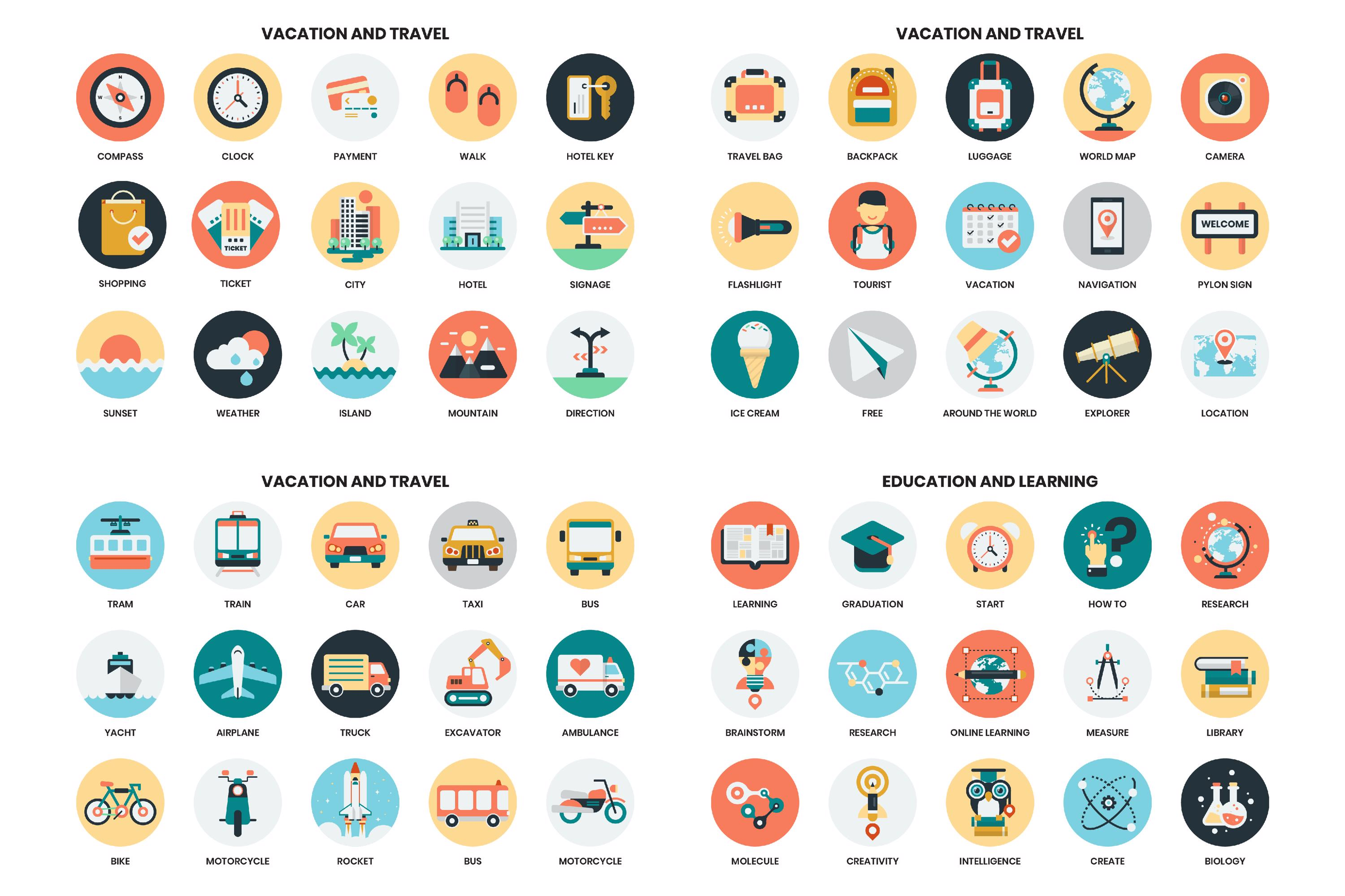 1155 PERFECT ICONS SET example image 11
