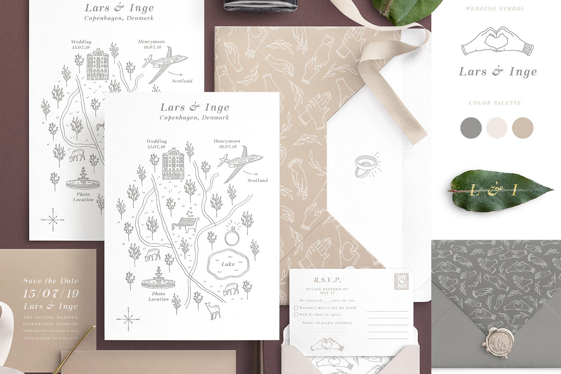 Wedding Map Creator example image 2
