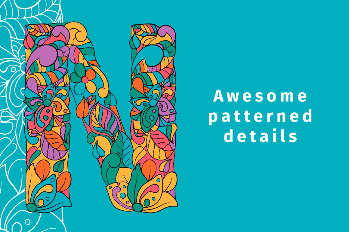 Batik India Color Font example image 4