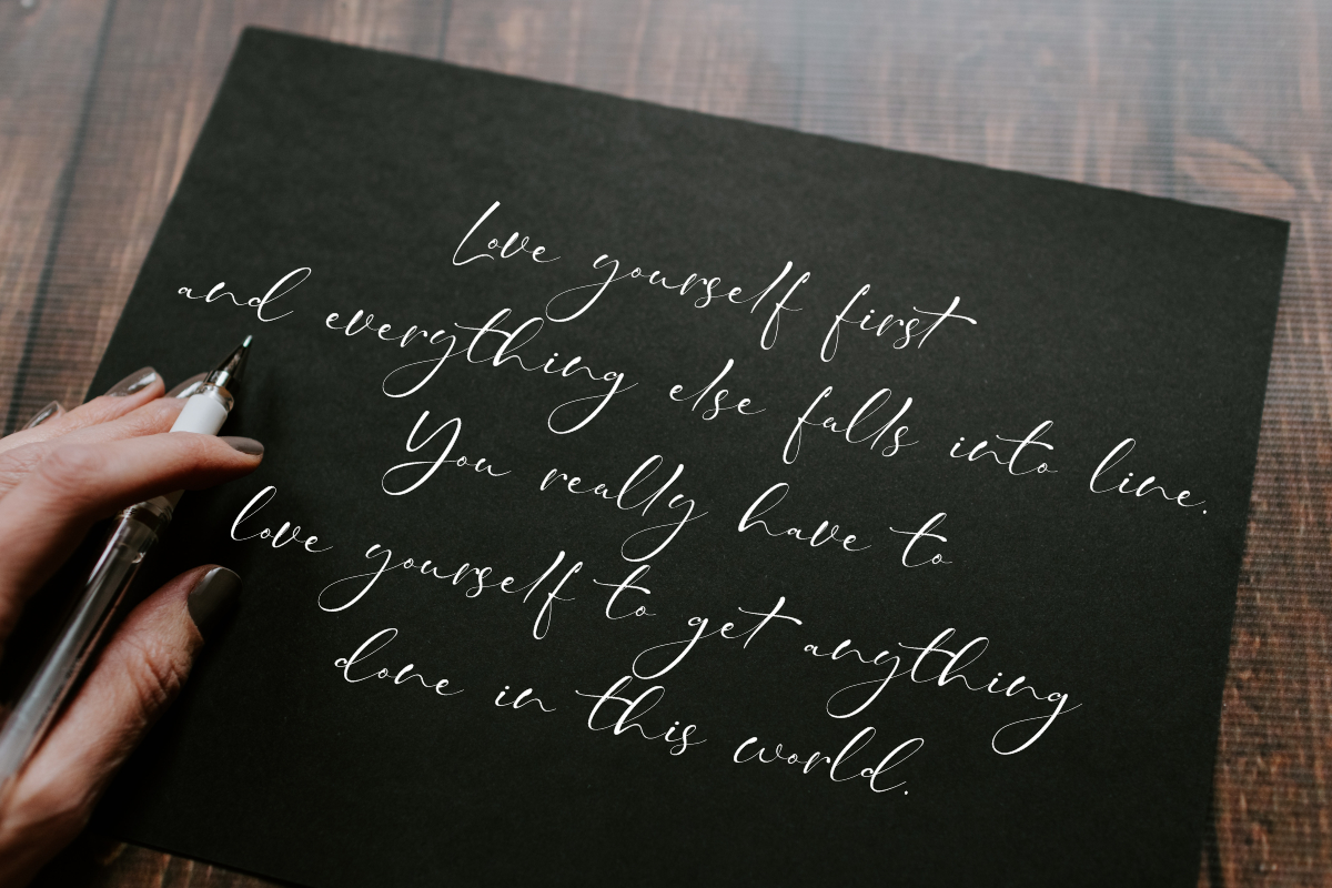 Taman Signature   Stylish Modern Script example image 8