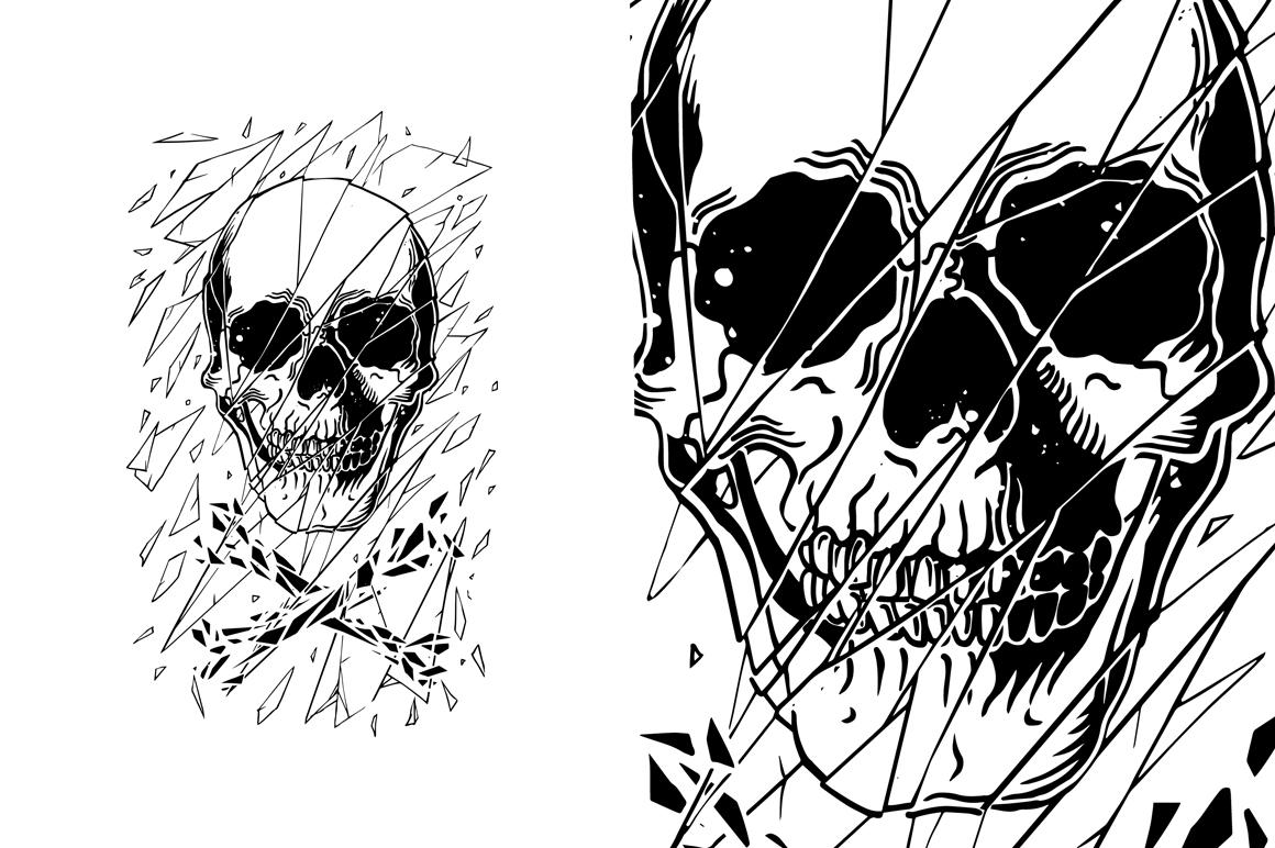 7 design skull VECTOR example image 3