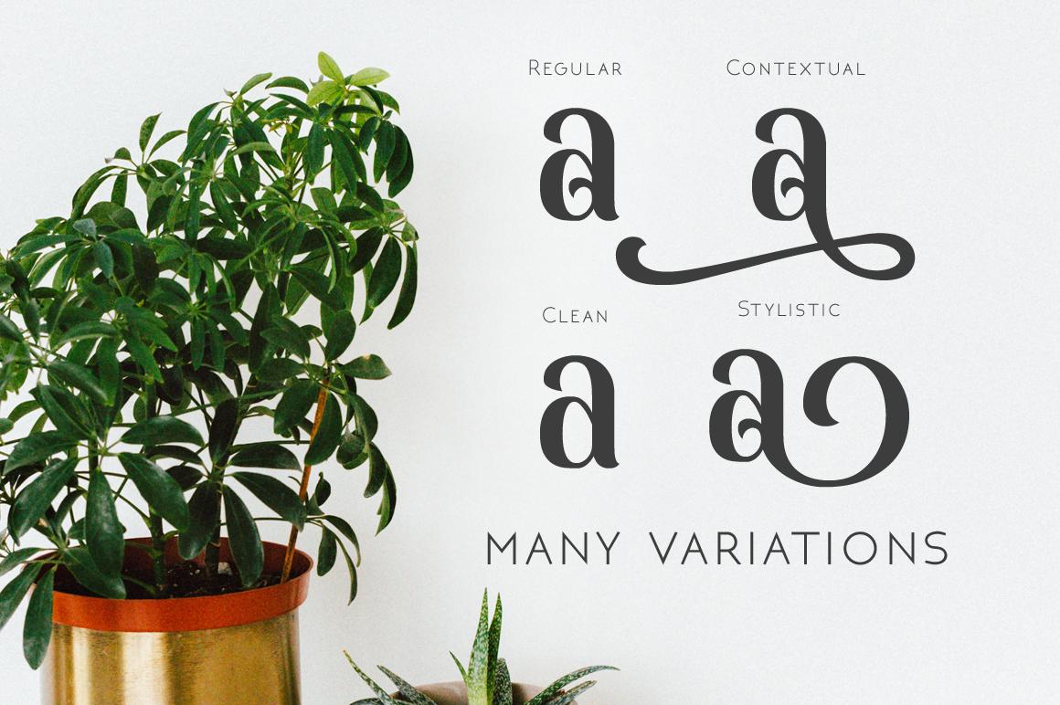 Monabelia Typeface example image 8
