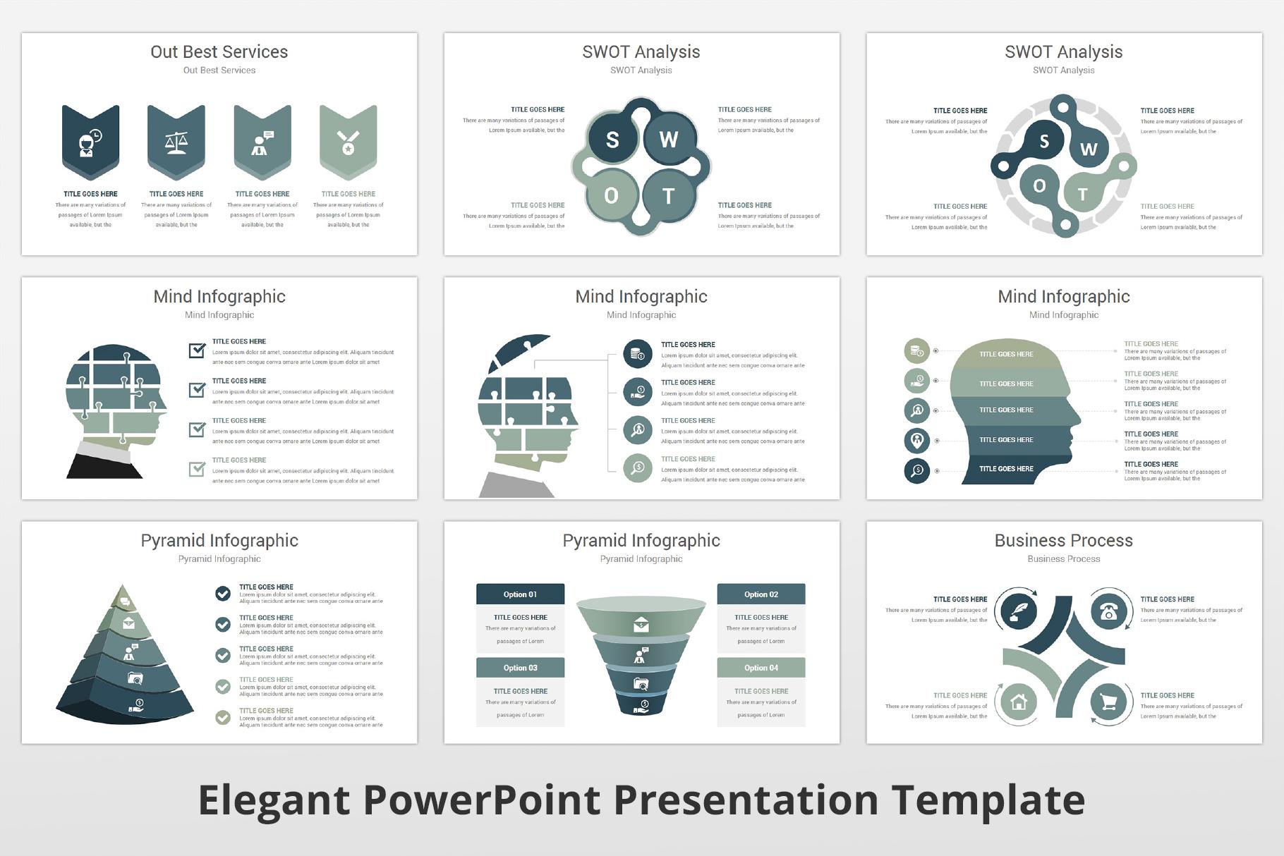 Elegant multipurpose PowerPoint Presentation Template example image 11