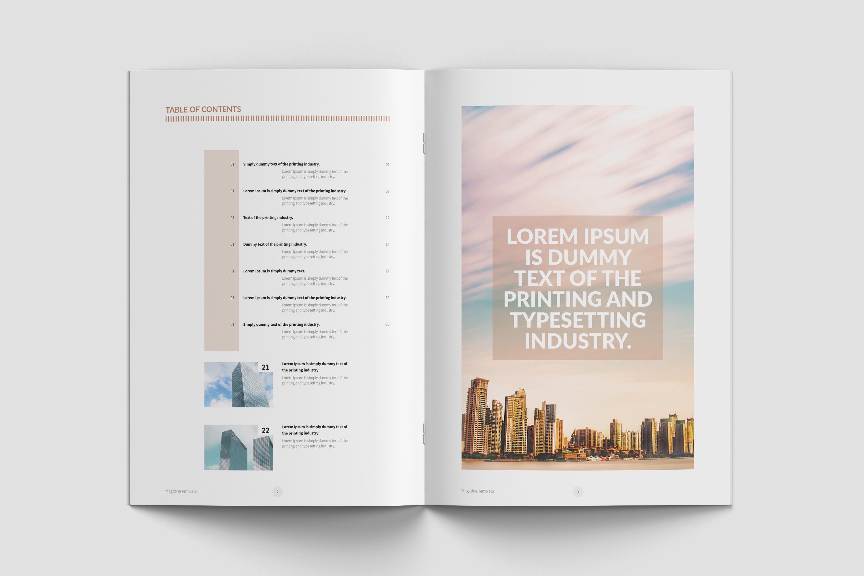 Real Estate Minimal Magazine Template example image 3