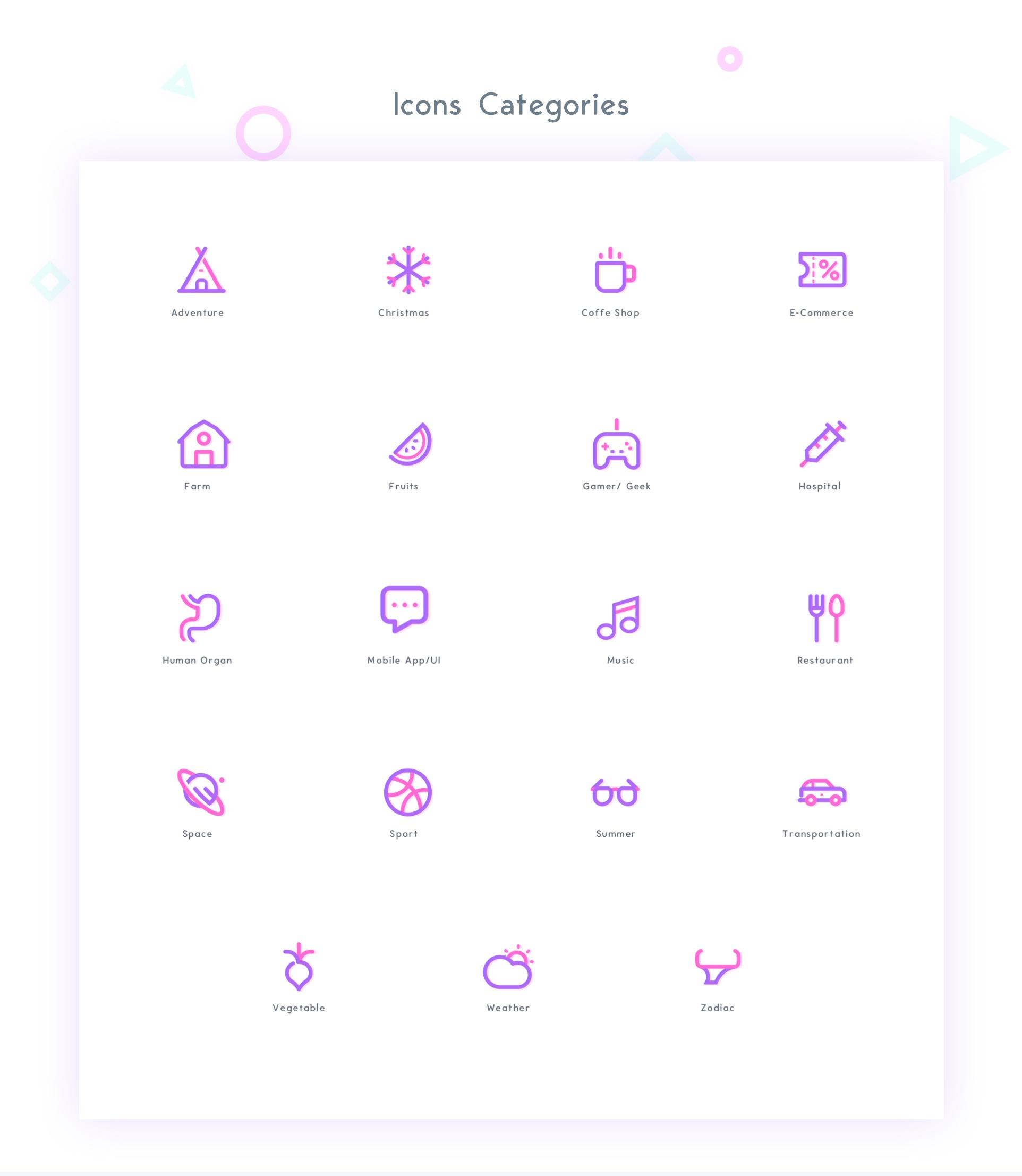 UICON - 280 Icons Bundle Pro Pack example image 2