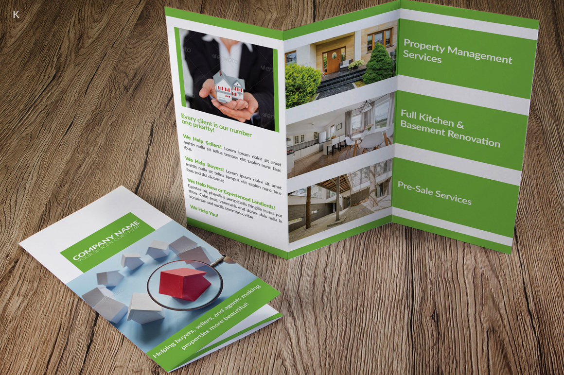 Real Estate Trifold example image 2