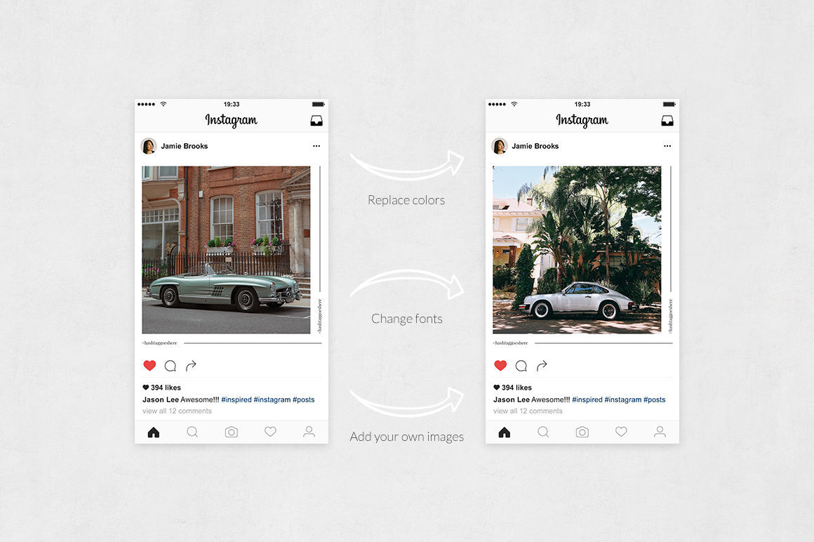 Classic Cars Instagram Posts example image 5