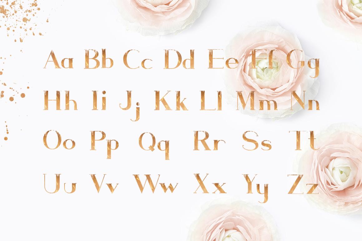 ROSE GOLD WEDDING SET example image 3