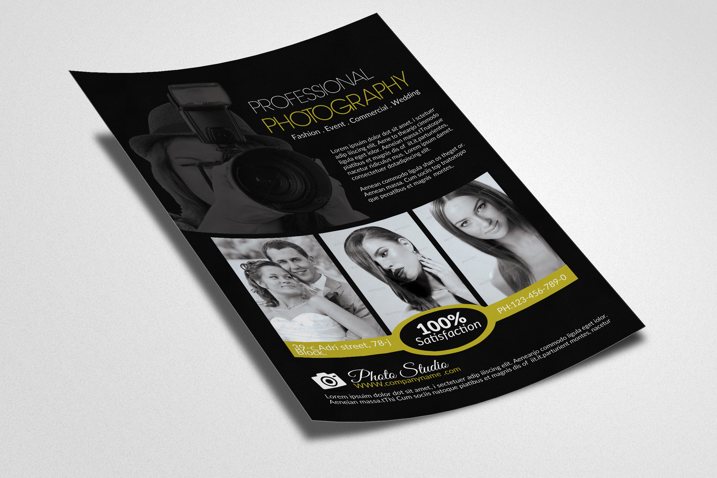 Photography Business Flyers example image 2