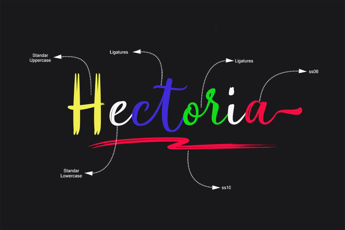 Hectoria Script example image 2