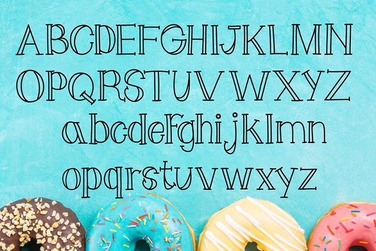 Doughnot Font example image 3