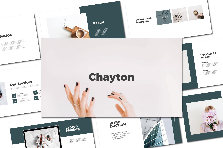 Chayton - Keynote Templates example image 1