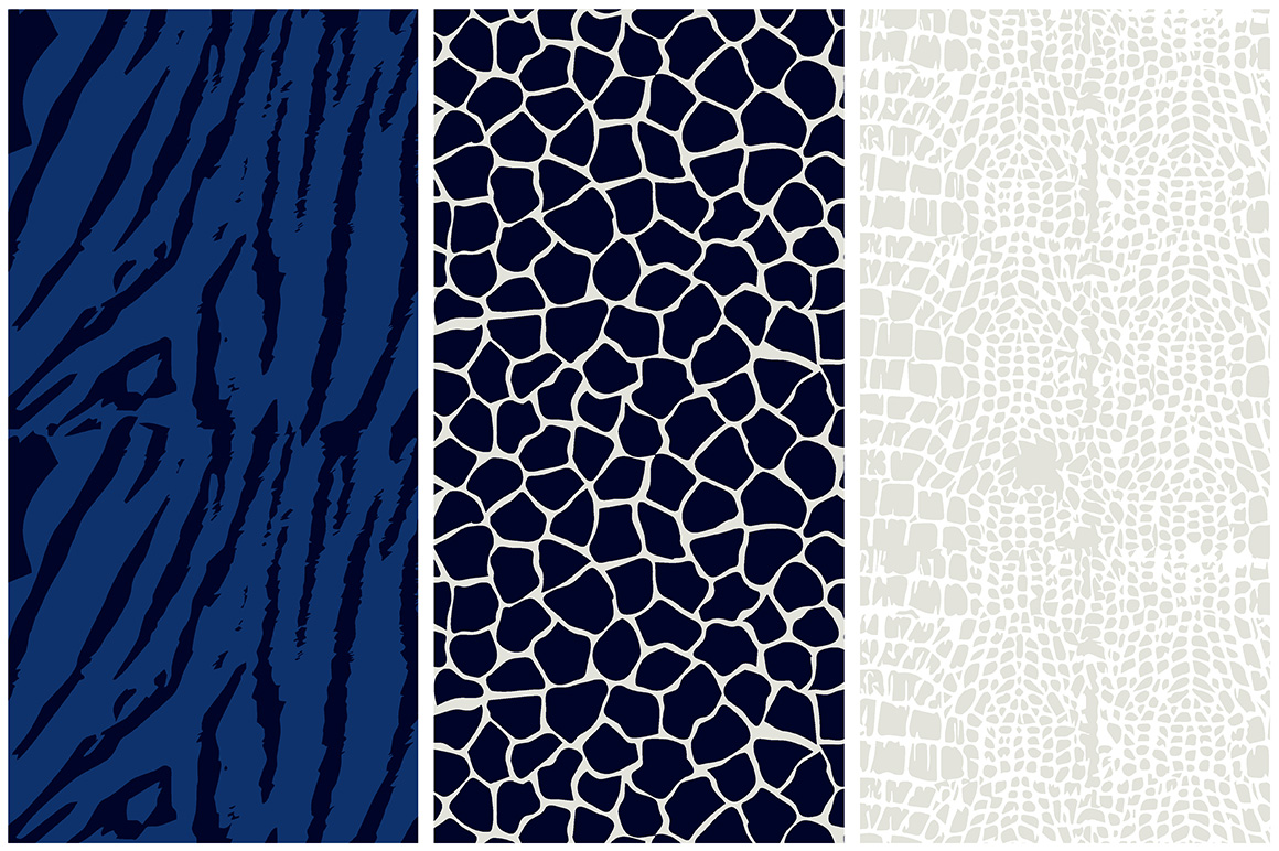 Animal Skin Seamless Patterns example image 2