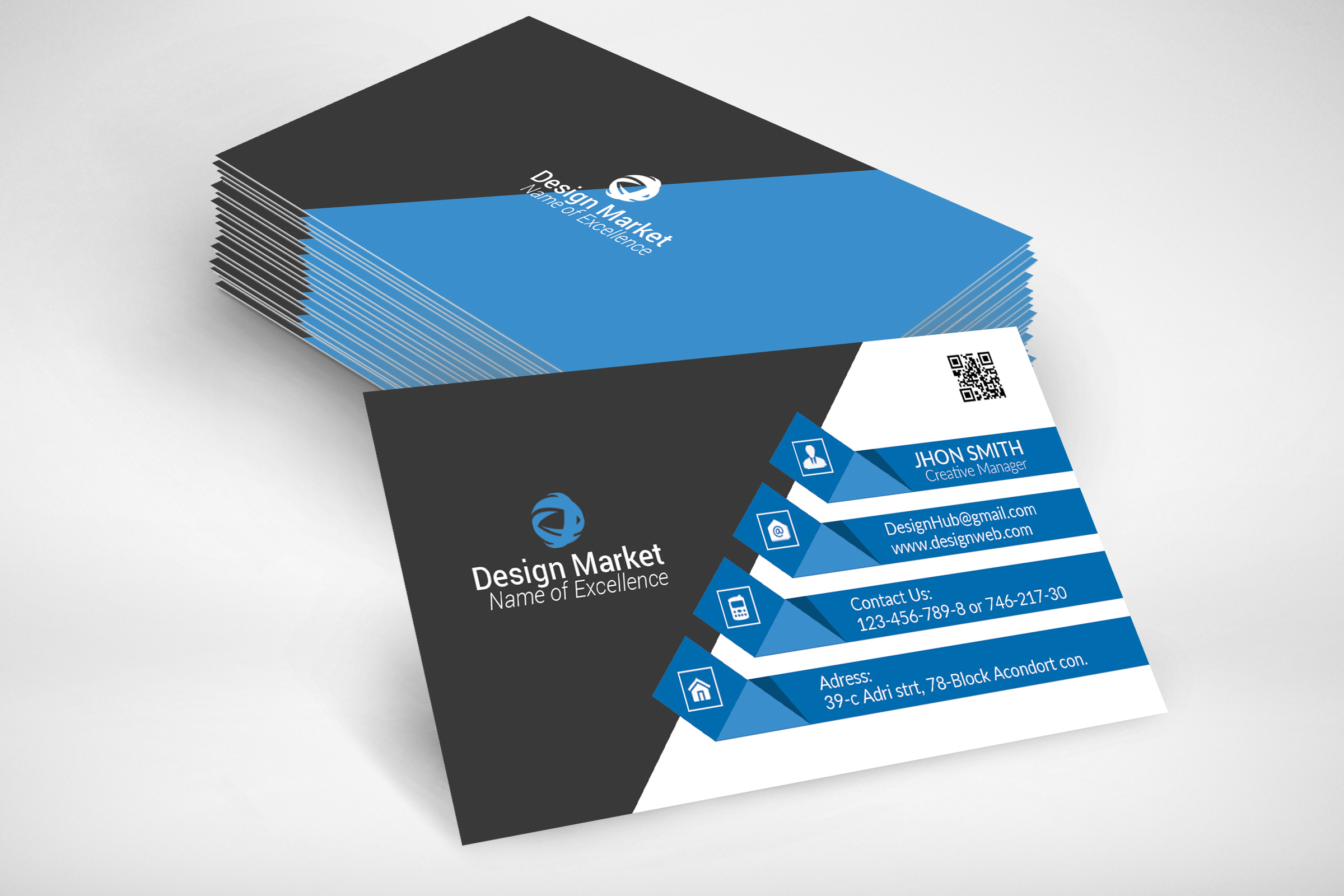 Business Cards Template example image 4