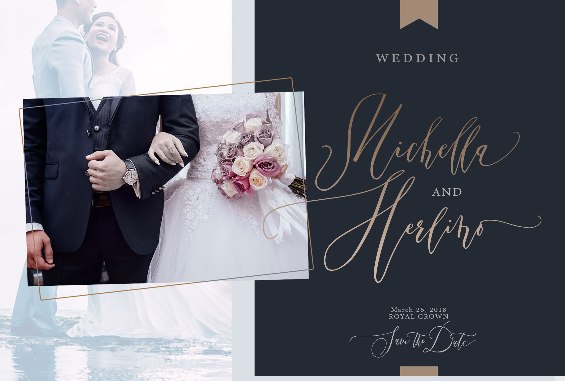 Married Typeface example image 3
