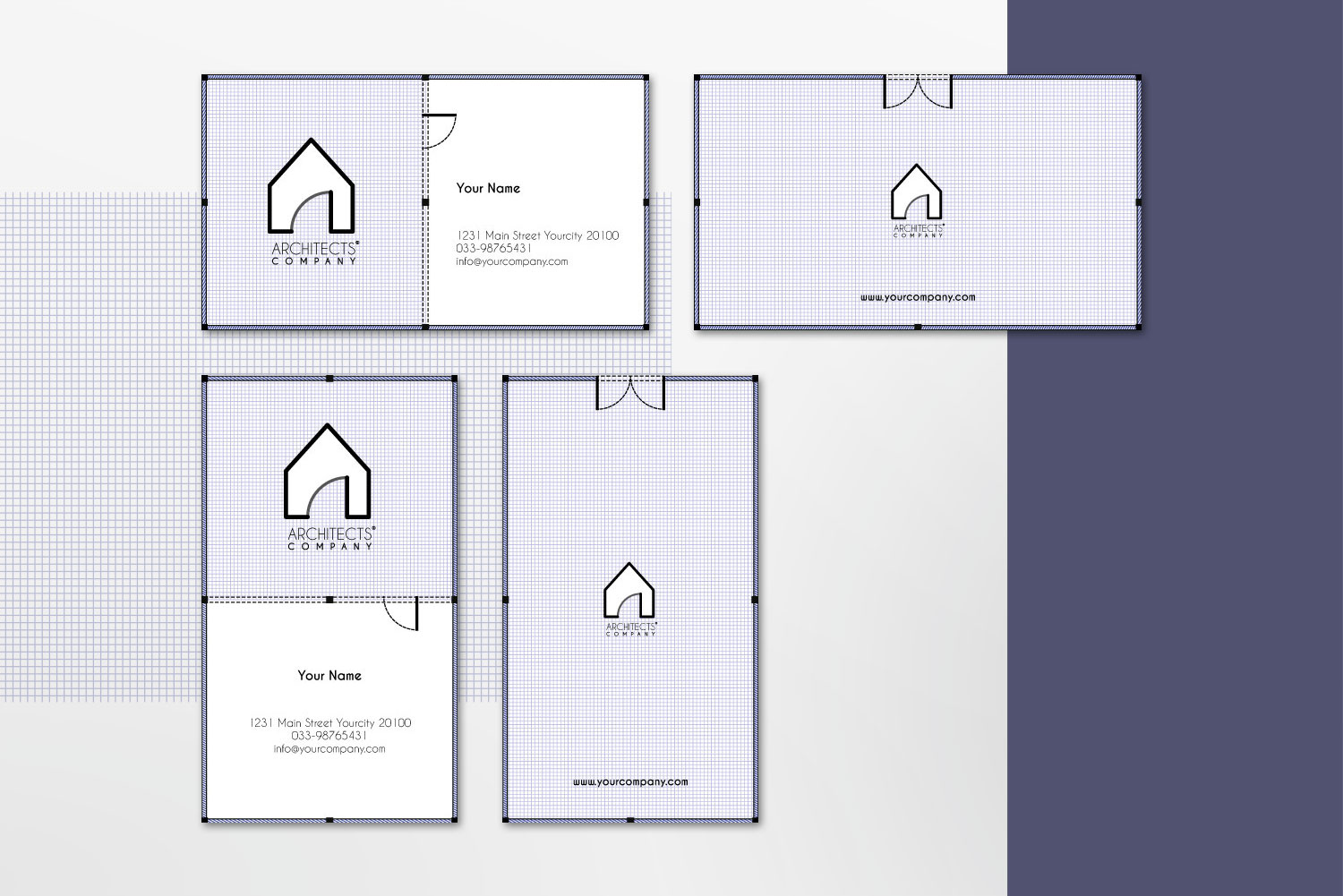 $10 for 5 - Business Card 01 example image 2