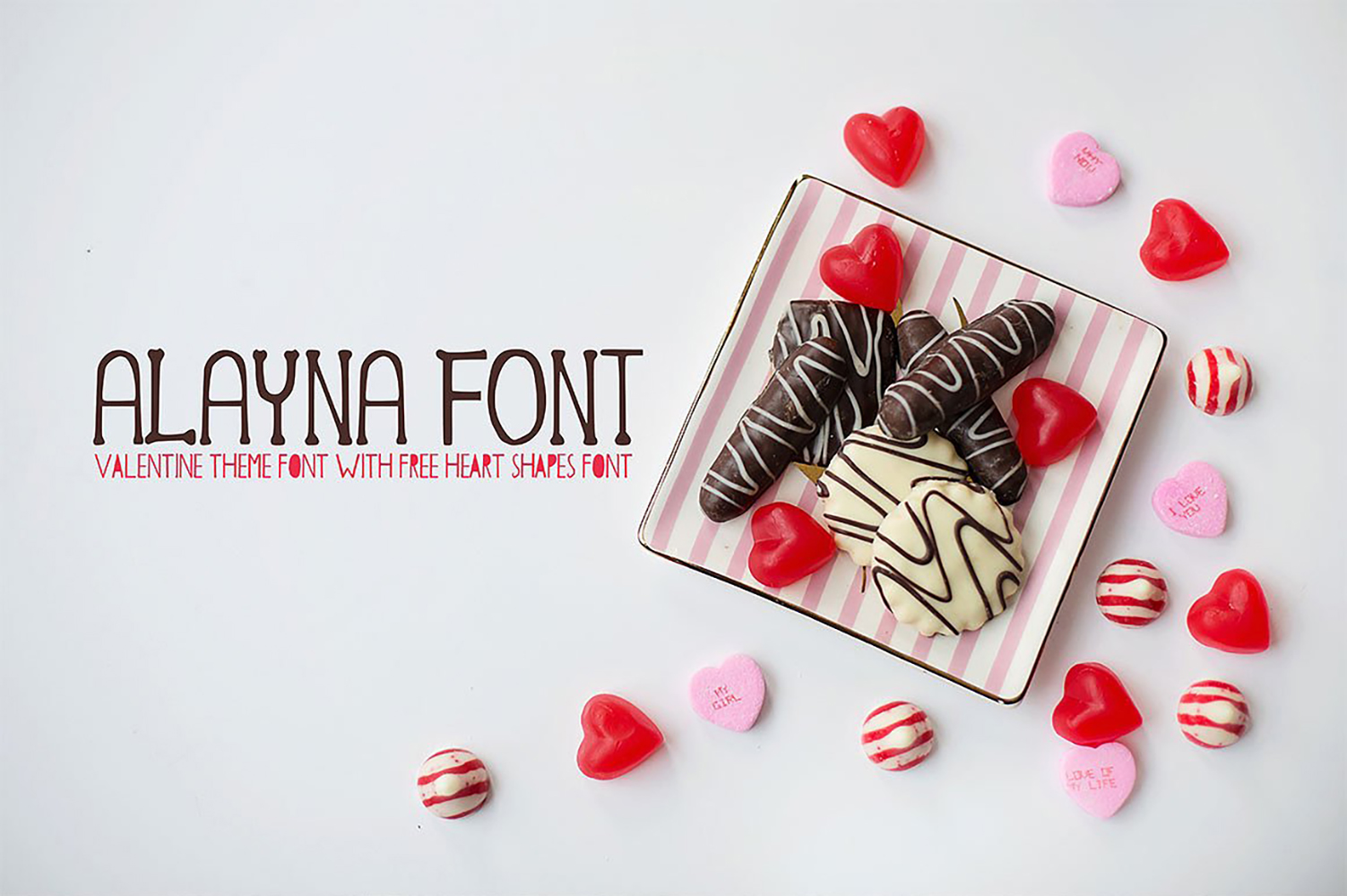 Alayna Valentines Love Font example image 1