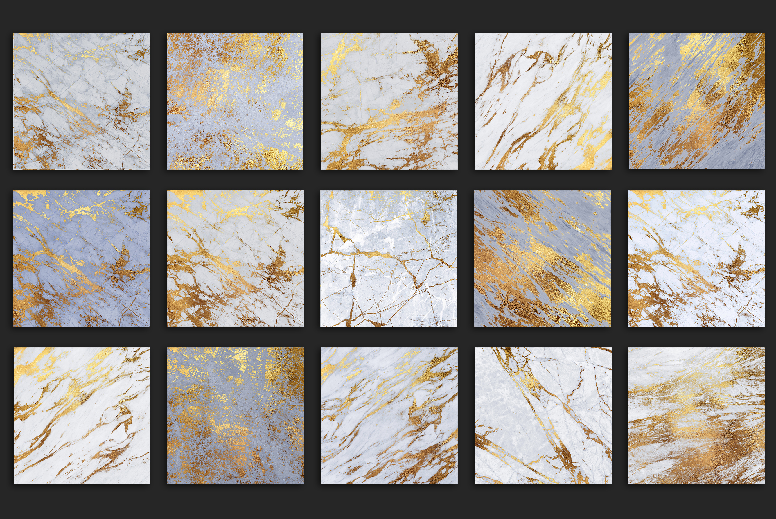 Gold Marble Textures example image 4