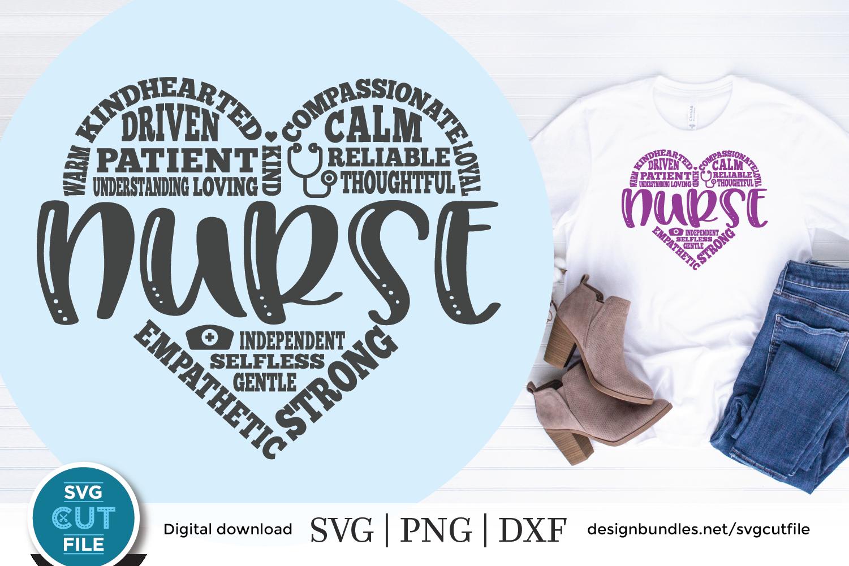 Nursing svg, nurse appreciation svg, Nurse svg, RN svg example image 1