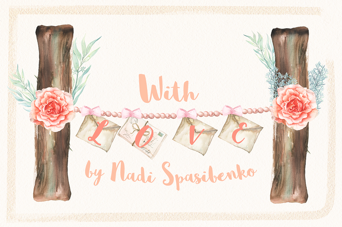 Watercolor Chic of Spring example image 4
