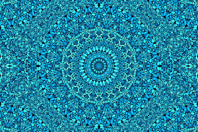 48 Seamless Floral Mandala Patterns example image 15