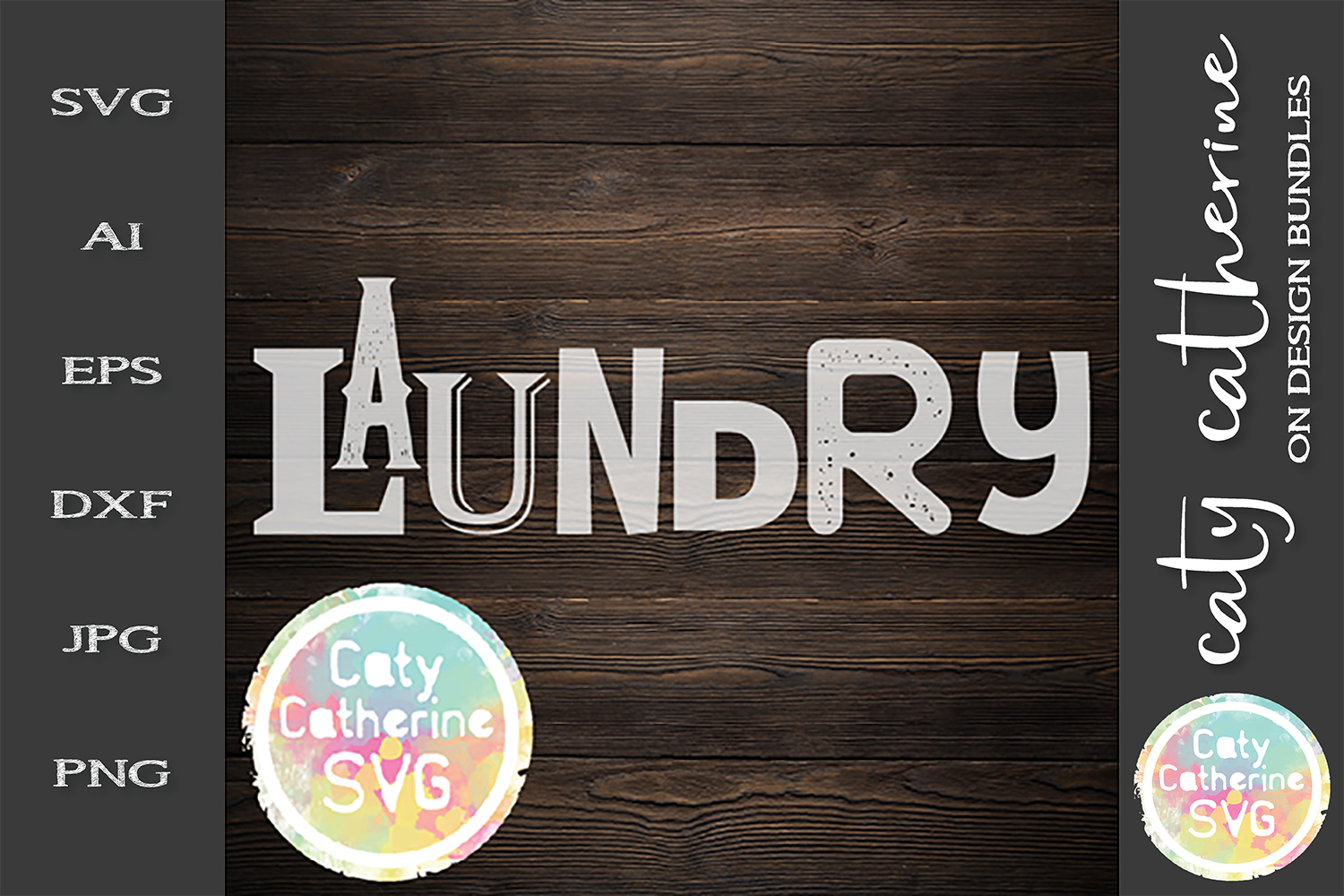 Laundry Utility Room Sign SVG Cut File example image 1