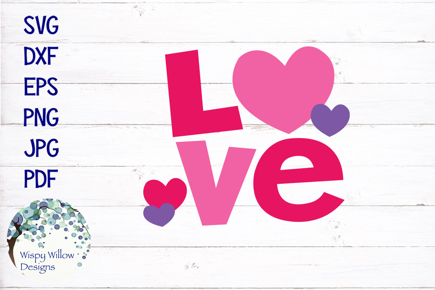 Love | Valentine's Day SVG example image 2
