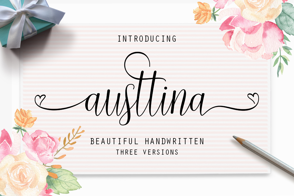 The Calligraphy Font Bundle example image 3