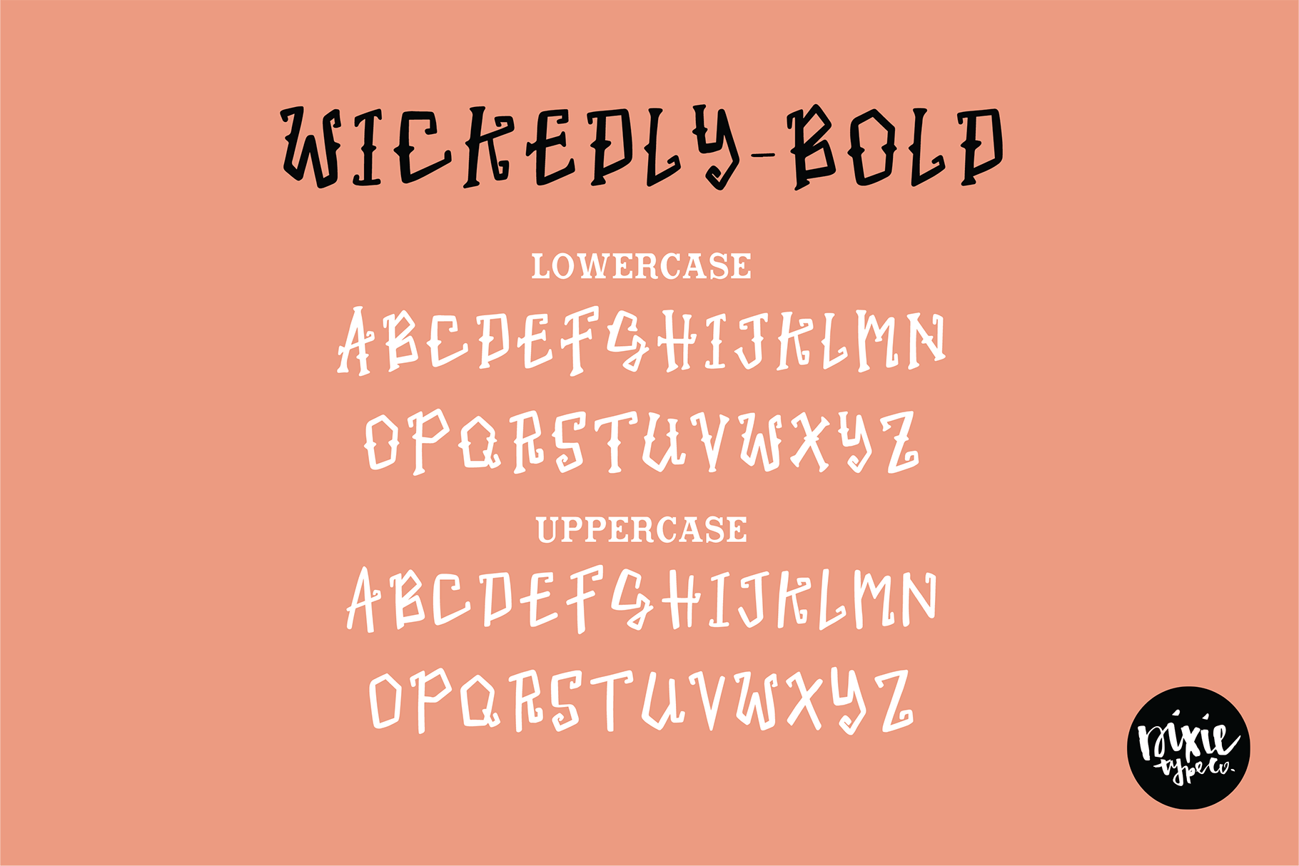 """""""Wickedly"""" a Decorative Halloween OTF Font Family example image 4"""