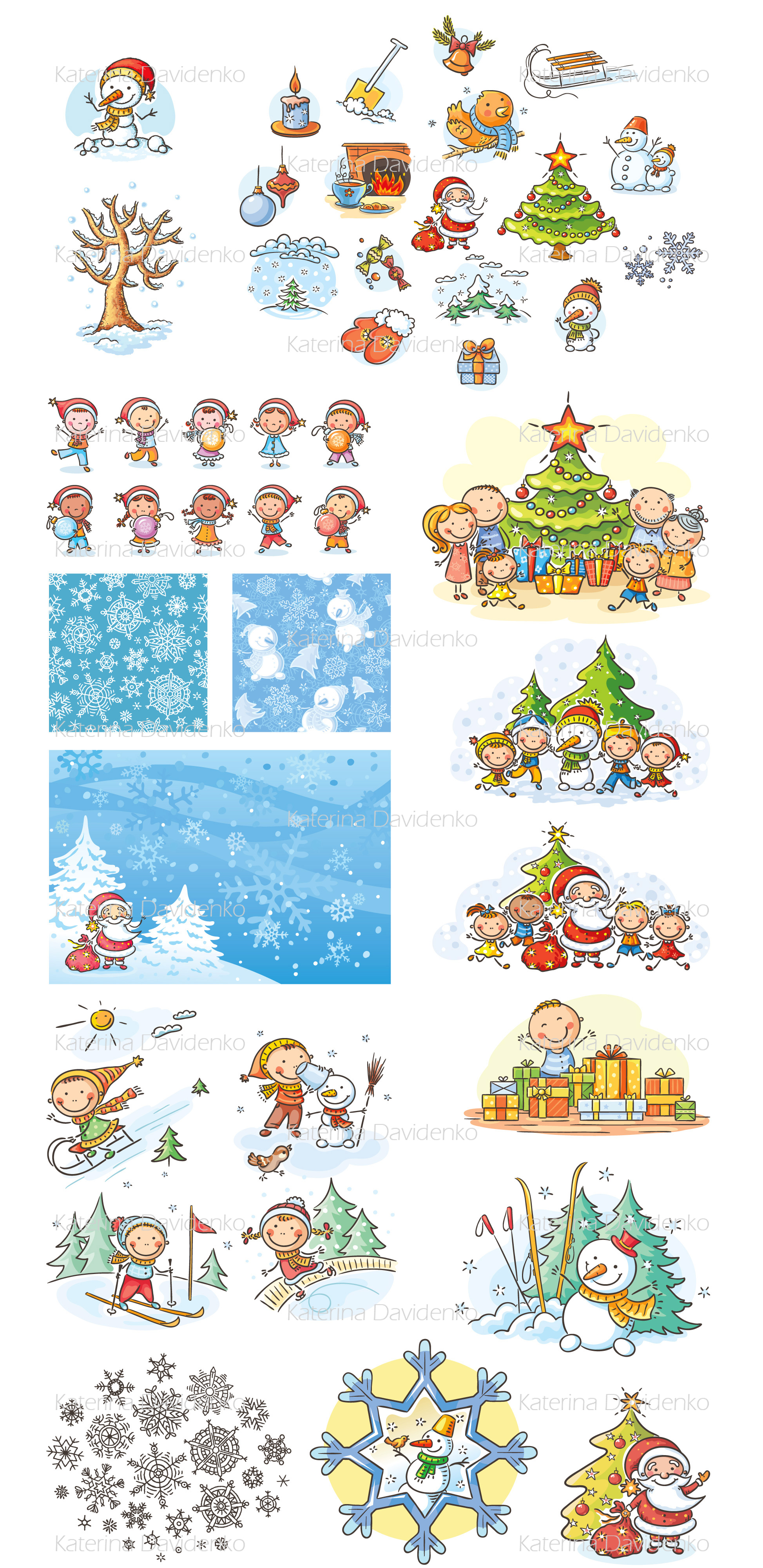 Christmas and Winter Bundle example image 2