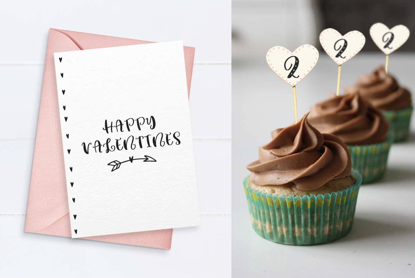Lovey cute valentines heart font family example image 2