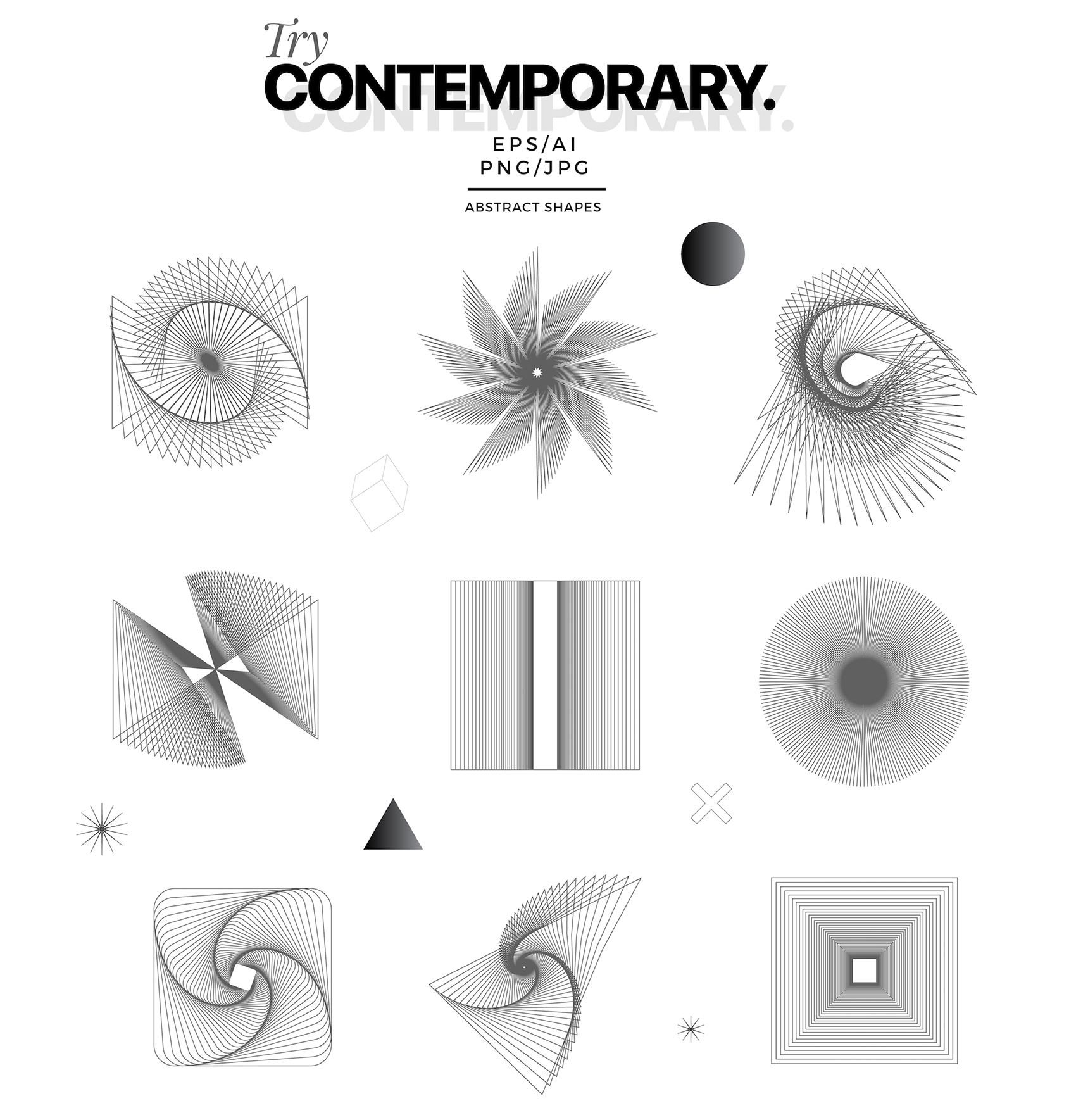 Try Contemporary - Geometric Covers example image 11