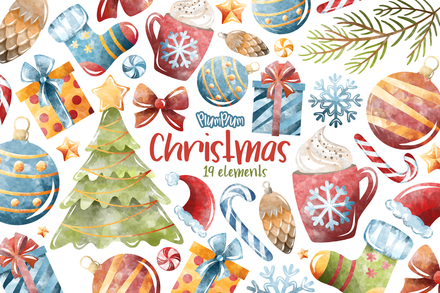 Winter Clipart Bundle example image 2