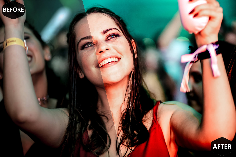 Party Radiance & Desktop Lightroom Presets, nightclub insta example image 3