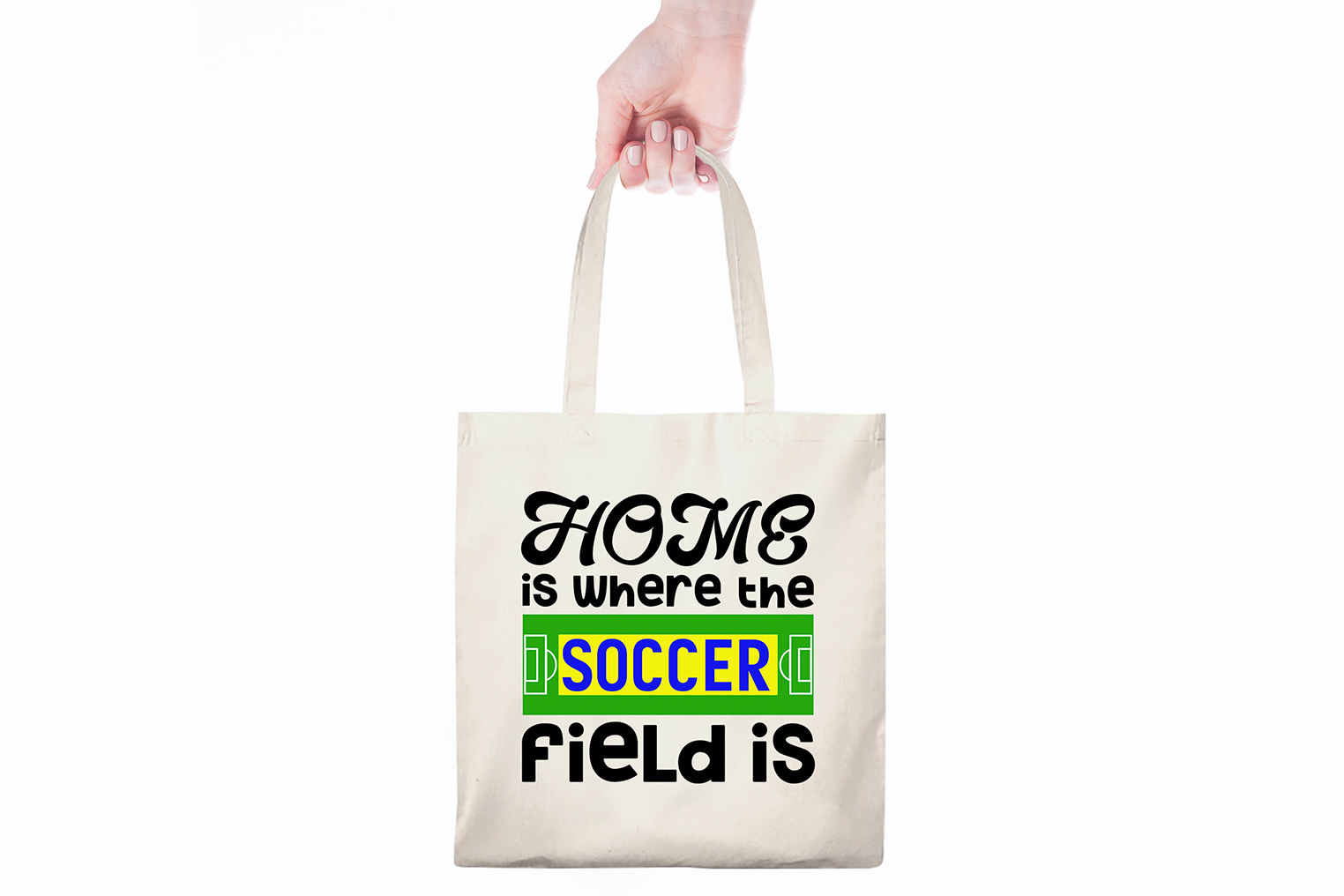 Home is Where the Soccer Field Is - A Soccer, Sports SVG example image 4