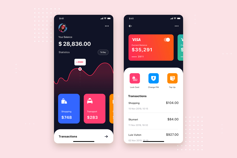Curium - Financial UI Kit example image 13