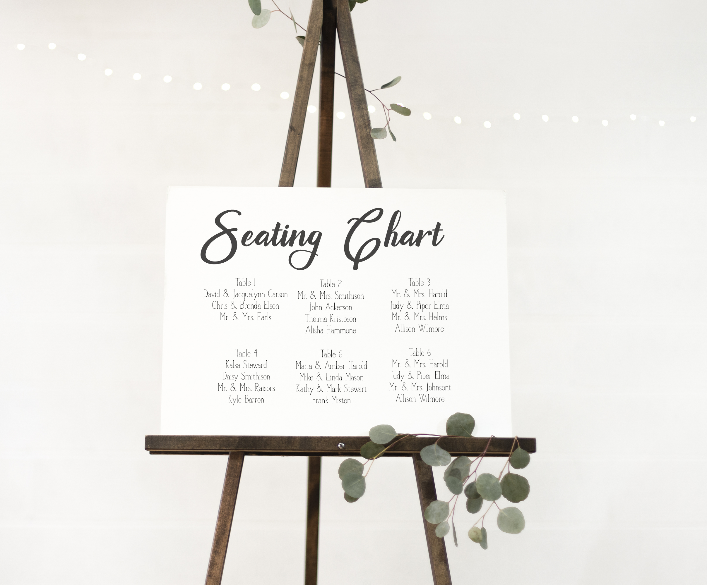 A Font Duo - LINEN - Thick Script paired with a serif example image 3