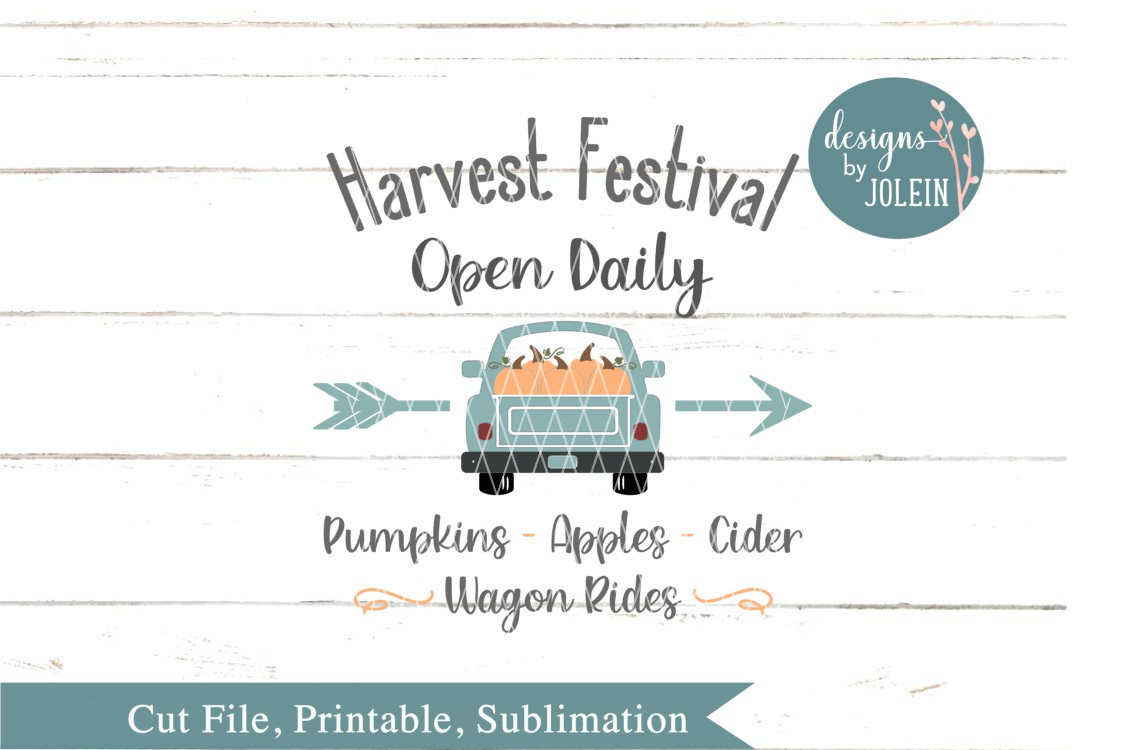 Harvest Festival SVG, png, eps, sublimation, DXF, Printable example image 3